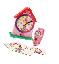 LEGO Time Teacher 9005039 Pink Kids Minifigure Link