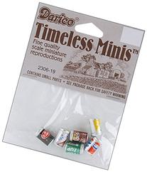 Timeless Miniatures-Assorted Soda Cans 6/Pkg
