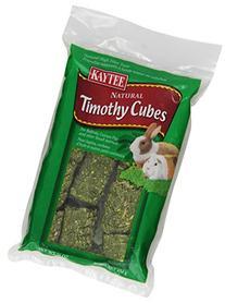 Kaytee Timothy Hay Cubes, 1-lb bag