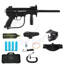 US Army Alpha Black Tactical Paintball Marker Gun 3Skull