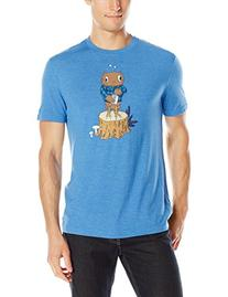 Original Penguin Men's Tipsy The Owl Tee, Snorkel Blue, X-