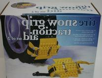 Set of 2 Tire Snow Grips Traction Aids