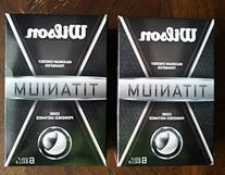 Wilson Titanium Distance Golf Balls 2 Pack-12 Total Balls