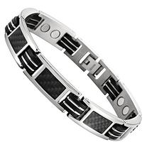 Carbon Fiber Titanium Magnetic Bracelet Adjustable Included