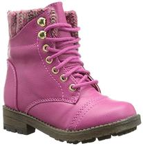 Steve Madden Tjacksin Boot , Pink, 12 M US Little Kid