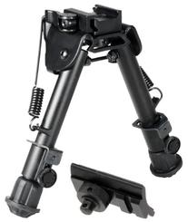 "UTG Tactical OP Bipod, QD Lever Mount, Height 5.9""-7.3"