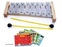 D'Luca 8 Notes Children Xylophone Glockenspiels with Music