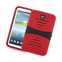 TM Red Heavy Duty rugged impact Hybrid Case with Build In