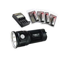 ThruNite TN36 UT 7300 Lumen CREE XHP 70 LED Flashlight Black