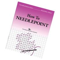 TNNA Books-How To Needlepoint