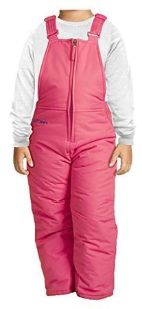 Arctix Toddler Chest High Snow Bib Overalls, 5T, Fuchsia