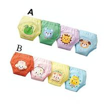 Losorn  Pack of 4 X Baby Toddler Girls Cute 4 Layers Potty