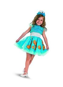 Frilly Cookie Monster Costume - Small
