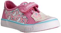 Toddler Girl's Keds 'Hello Kitty - Glittery Kitty' Sneaker,