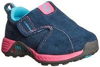 Toddler Girl's Merrell 'Jungle Moc' Leather Sneaker Navy/