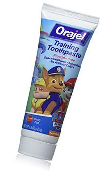 Orajel Toddler Training Toothpaste Tooty Fruity Flavor 1.50
