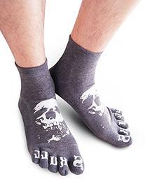Vero Monte 4 Pairs Mens Full Toe Socks  1391