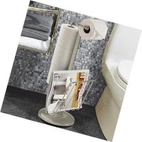 The Toilet Caddy Free Standing Toilet Holder, Stainless