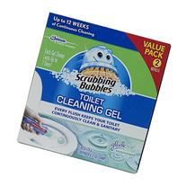Scrubbing Bubbles Toilet Cleaning Gel Fresh, 2 Count, 2.68
