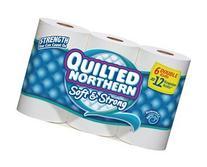 Quilted Northern Toilet Tissue 12 Regular Rolls