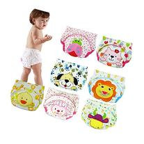 6 Pack Baby Girl Boy Toliet Pee Potty Training Pants Diaper