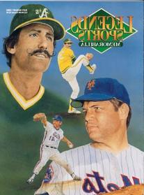 Tom Seaver Mets & Rollie Finger Athletics Baseball Legends