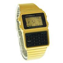 Casio #DBC611G-1D Men's Gold Tone 25 Memory Calculator