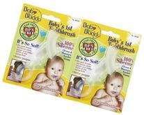 Baby Buddy Baby's 1st Toothbrush - Clear - 2 pk