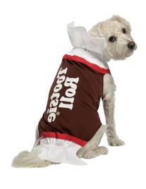 Rasta Imposta Tootsie Roll Dog Costume, Medium