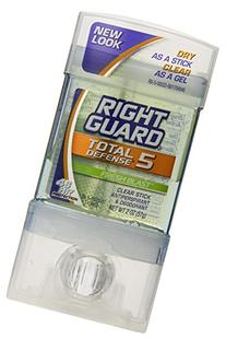 Right Guard Total Defense 5 Clear Stick Antiperspirant/