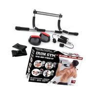 Iron Gym Total Body Fitness 4 Piece Kit As Sen ON TV Door