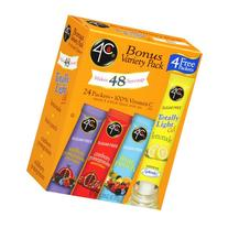 4C Totally Light 2 Go Drink Mix Variety Pack - 24 CT