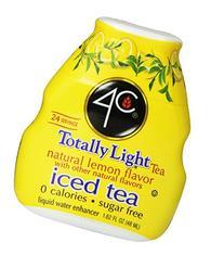 4C Totally Light Tea-Liquid Water Enhancer, Lemon, 1.62