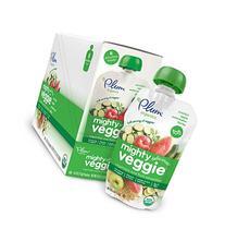 Plum Organics Tots Mighty Veggie Food, Zucchini/Apple/