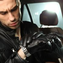 Elma Men's Touch Screen Nappa Leather Winter Gloves Iphone