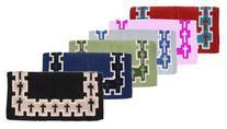 Tough-1 Crosses Design Saddle Blanket