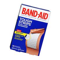 Band-Aid Band-Aid Tough-Strips 100% Waterproof Adhesive