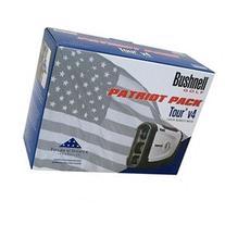 NEW Bushnell Tour V4 Patriot Pack Laser Rangefinder w Blue