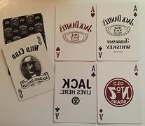 Jack Daniel's Playing Card