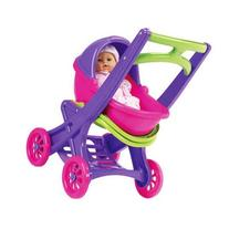 Toy / Game Great American Plastic Toy On The Go Stroller