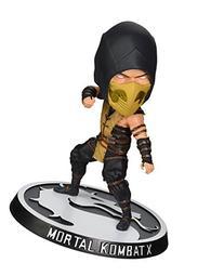 Mezco Toyz Mortal Kombat: Scorpion Bobble Head