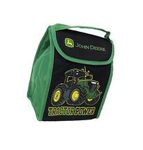 John Deere Tractor Power Foldable Soft Lunch Box