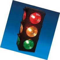 Traffic Light Lamp - Plug-In, Blinking Triple Sided, 12.25