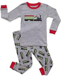 Leveret Train 2 Piece Pajama 5 Year