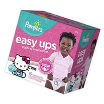 Pampers Easy Ups Training Underwear for Girl 4T-5T - 60