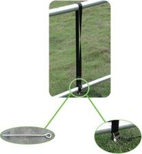 Pure Fun Trampoline Accessory: Heavy-Duty Ground Anchor Kit