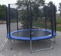 Exacme 10-Feet Trampoline with Safety Pad and Enclosure Net