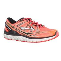 Brooks Transcend Men's Running Shoes Fiery Coral/Silver/