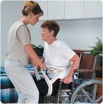 Patterson Medical Transfer Sling and Gait Belt - Size Medium