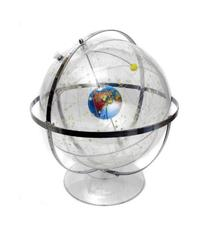 American Educational 300 Transparent Celestial Globe, 12""